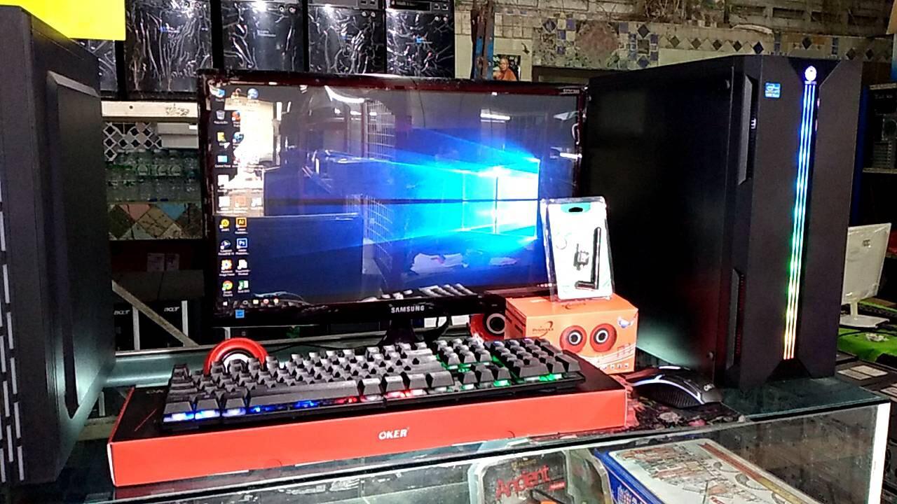 คอมcorei5เจน2-3(5690)ram 8 Gb. Hdd 500 (led19y+wifi+เม้าส+คีย์บอร์+ลำโพง.