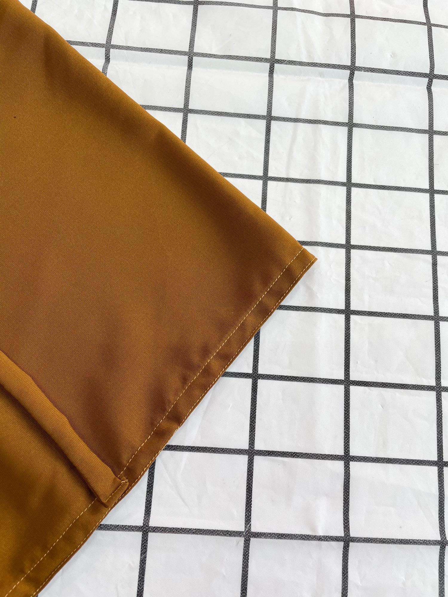 ผ้าคลุมอินโด ฮิญาบสวมสำเร็จ มีเชือกผูกข้างหลัง ผ้าใส่สบาย