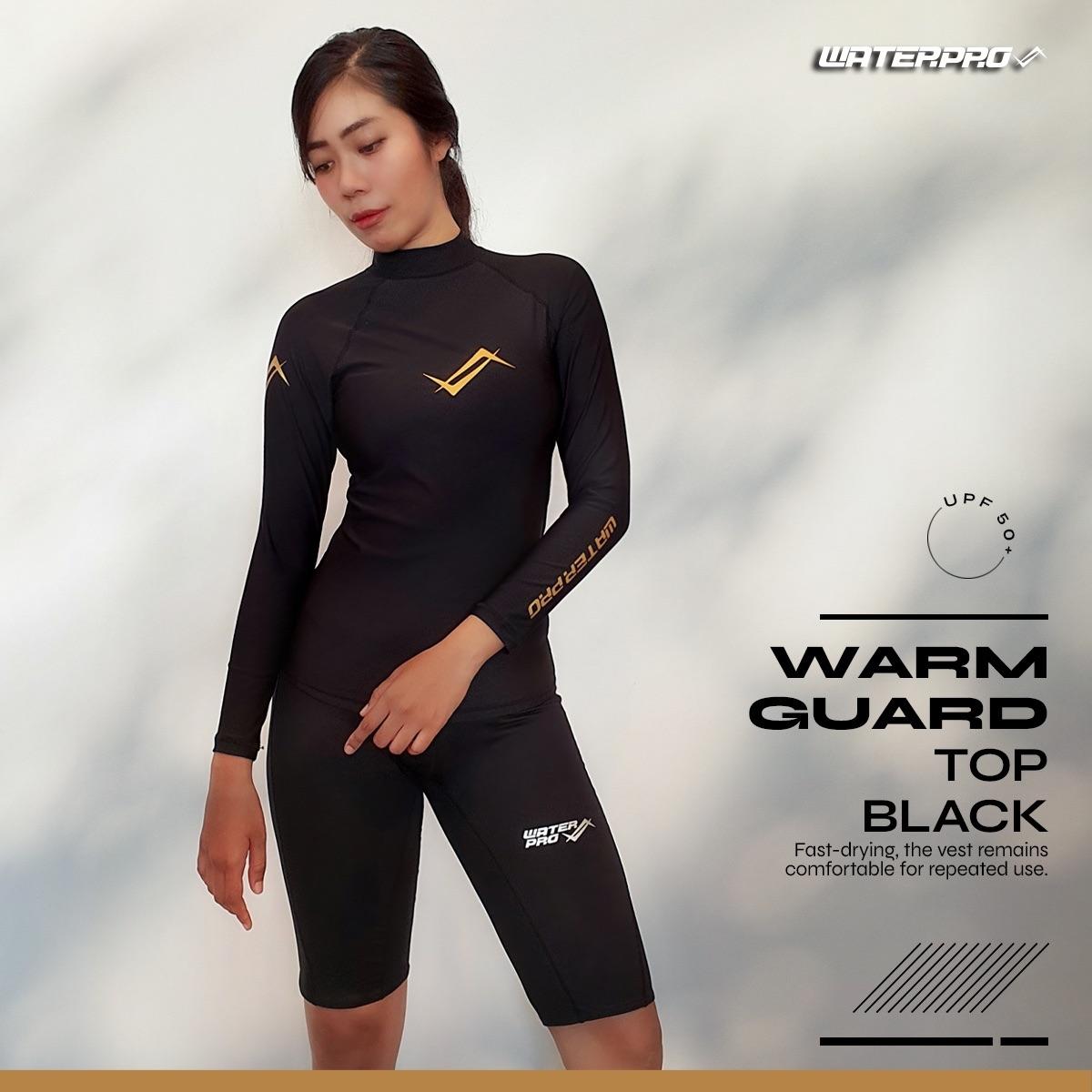 เสื้อรัชการ์ด Water Pro รุ่น Warm Guard Upf50+ ใส่ได้ทั้งชาย-หญิง กัน Uv 98%.
